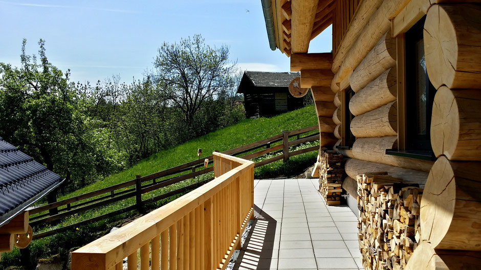 Surrounded bei nature, your chalet accompanied with perfect summer views