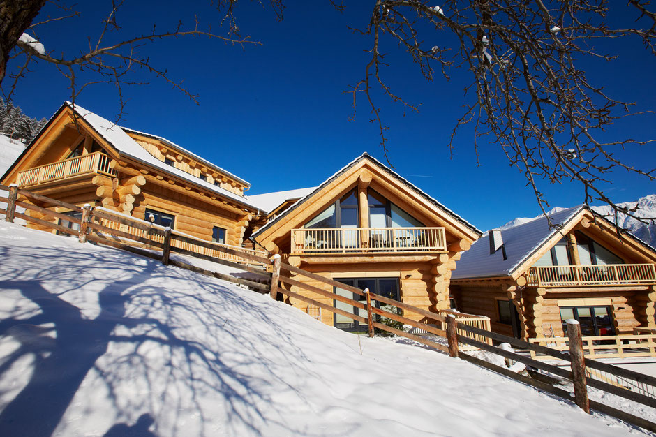 Family Relax Chalets TyroLadis next to the ski slope Fiss - Ladis, winter season