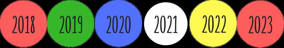 Farbe für die Königinnenzeichnung 2022: Gelb