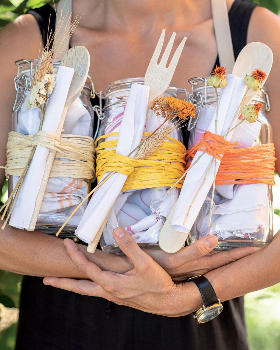 Raffia Geschenkband