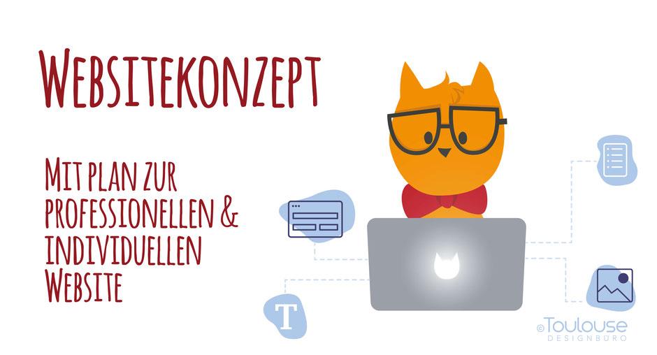 Websitekonzept - Farbkonzept, Schriftkonzept, Designkonzept im Toulouse Designbüro Business Blog