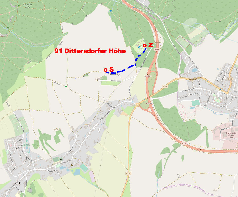 91 Dittersdorfer Höhe