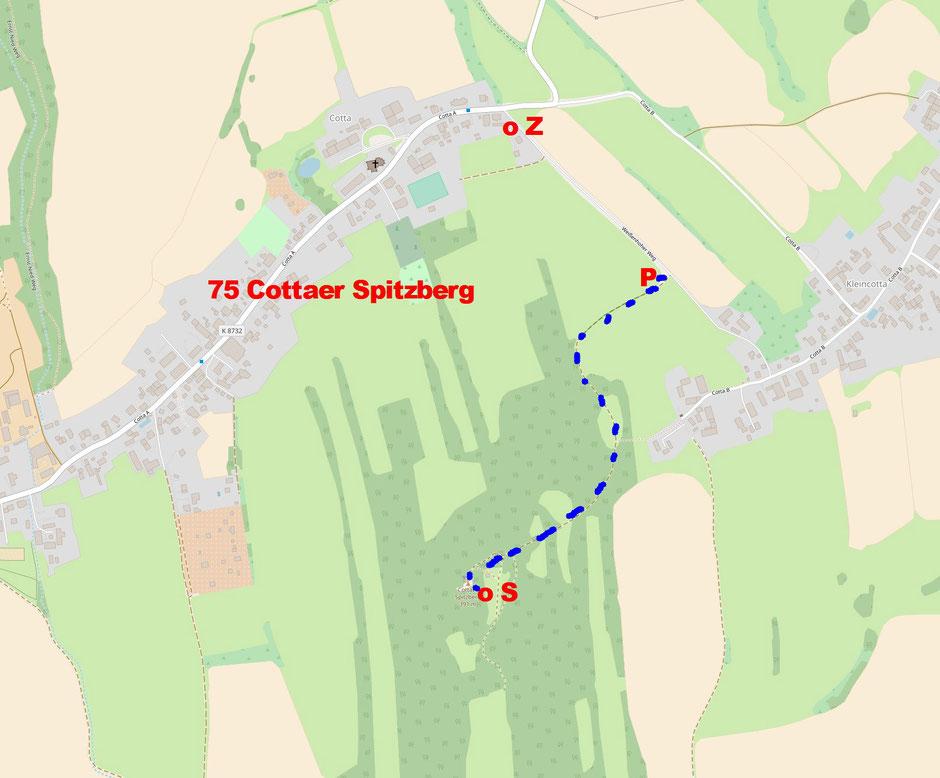 57 Cottaer Spitzberg