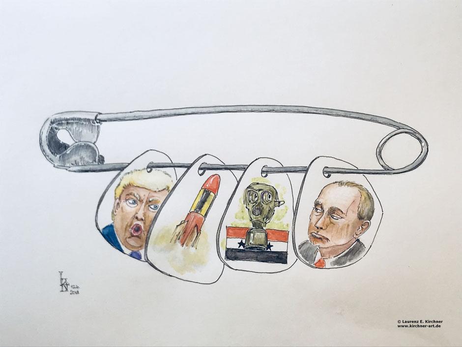 Zuspitzung Konflikt USA Russland