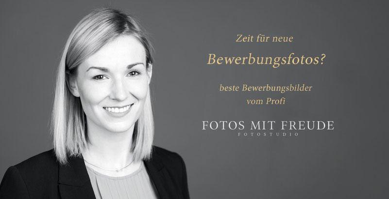 Zeit für neue Bewerbungsfotos? Beste Bewerbungsbilder vom Profi! FOTOS MIT FREUDE Fotostudio in Erlangen. Dem Fotograf für moderne Businessfotos und für bessere Chancen bei der Job Bewerbung.