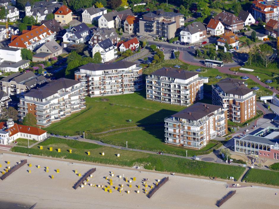 Strandpalais Duhnen - direkt am Strand