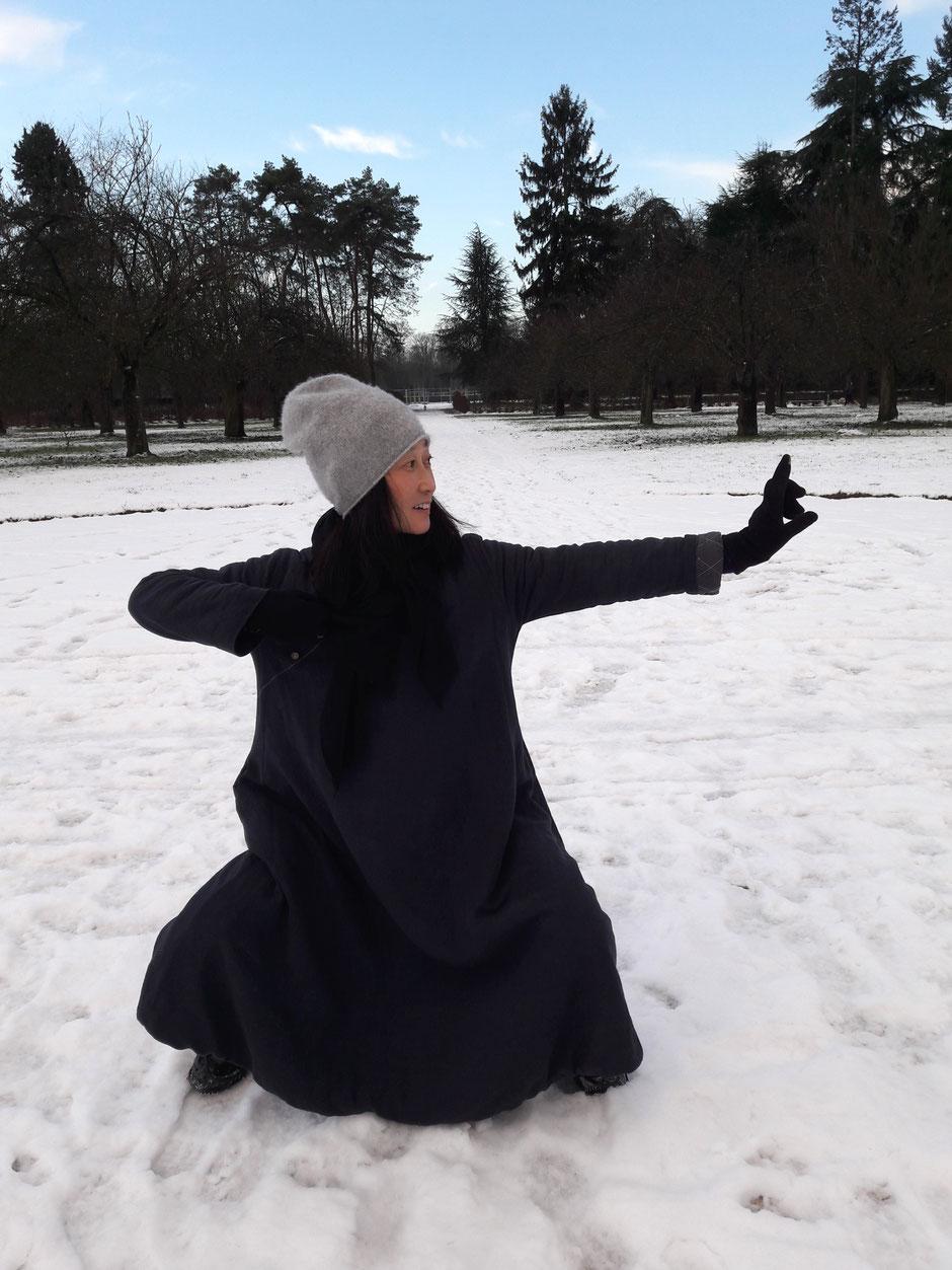 qi gong en hiver malgré le froid