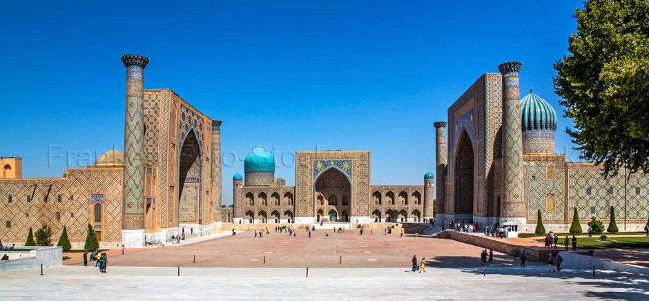 Registan in Samarkand - USBEKISTAN