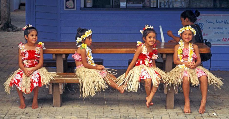 Hula-Mädchen, HAWAI