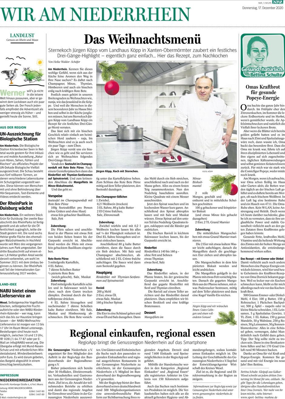 """Zeitungsartikel: """"Omas Kraftbrot"""" von Bettina Schulte-Kleipaß."""