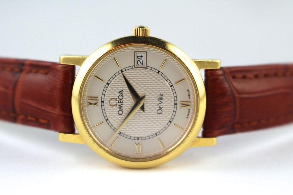 Foto gebrauchte Omega Uhr verkaufen