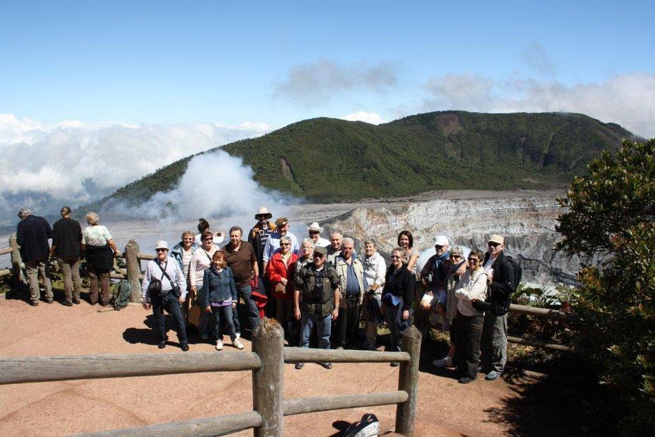 Thurgau Travel Reise auf dem Poas Vulkan 2011