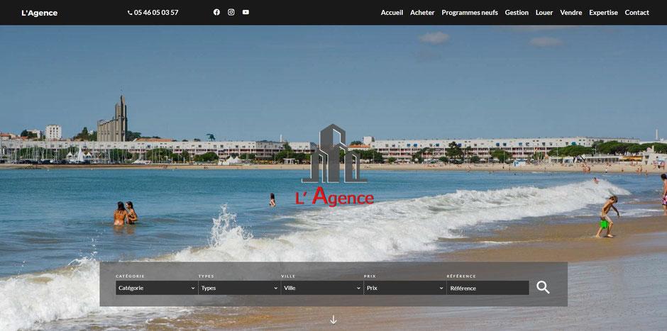 L'Agence Royan, site internet de notre agence immobilière à Royan