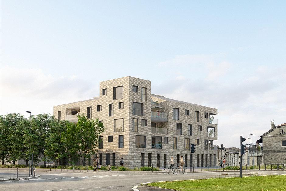 Appartements Neufs Bordeaux - la Bastide - proche centre ville