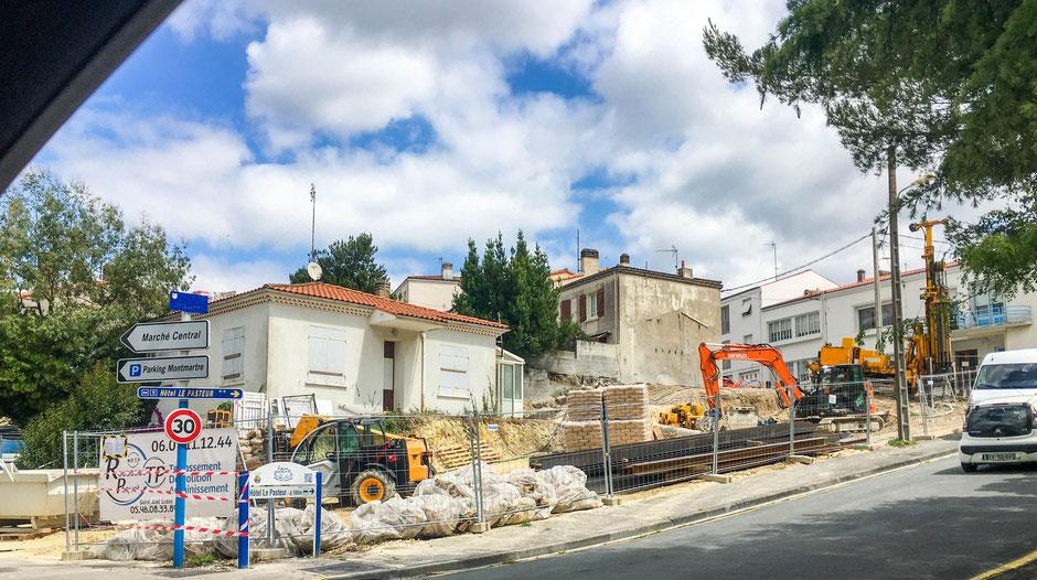 Démarrage des travaux de la résidence à Royan Centre