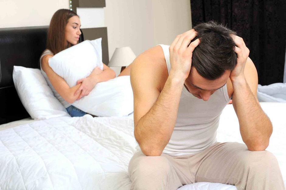 Impotenz, vorzeitiger Samenerguss, Frigidität