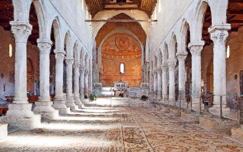 Aquileia Basilica interno