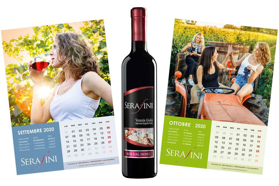Progetto grafico per calendario - Servizio fotografico per calendario