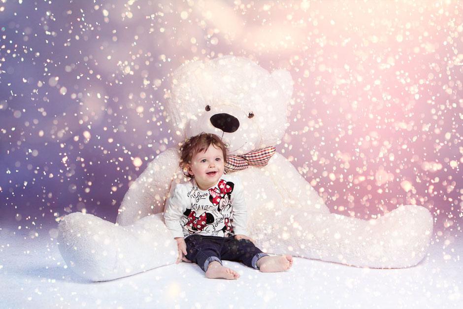Fotografo Foto di Bambini San Giorgio di Nogaro - Foto in studio con fotomontaggio