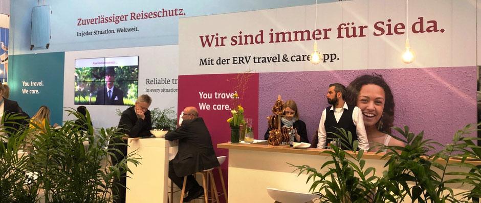 ITB-Stand der ERGO-Reiseversicherung 2019