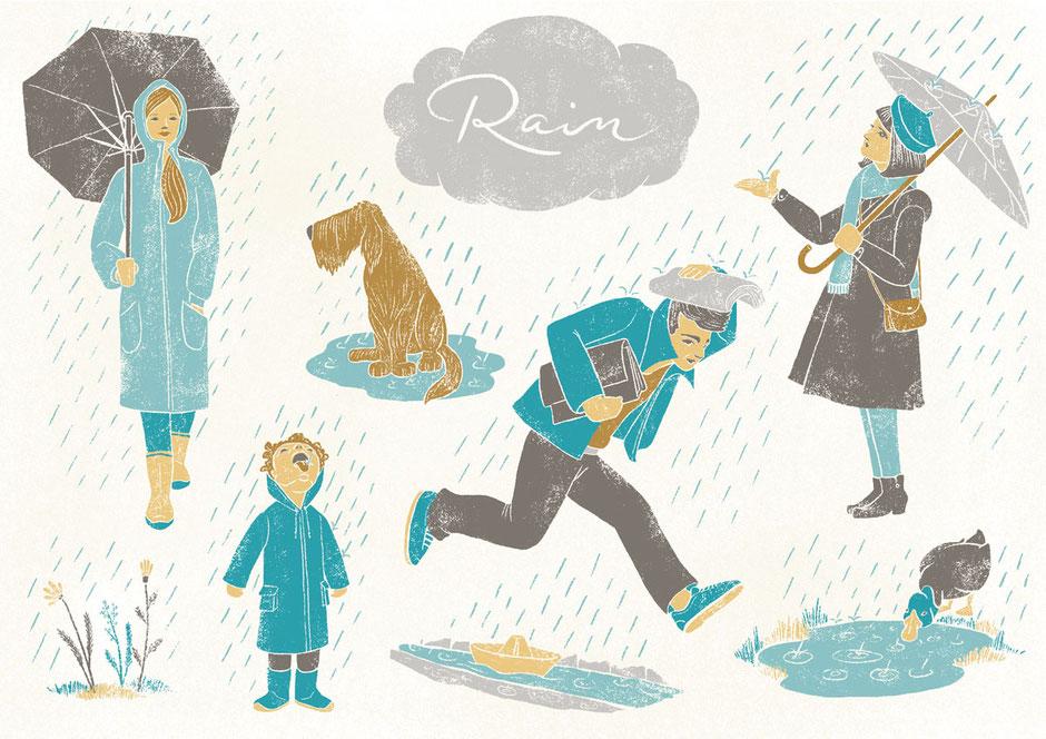 Illubelle - Julia Kerschbaumer - Rain