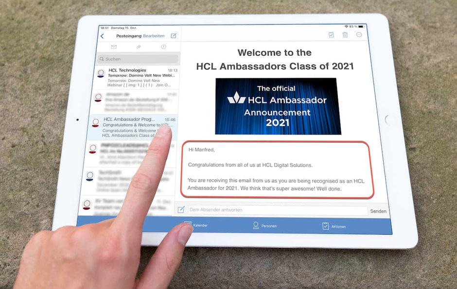 Welcome to the HCL Ambassadors Class of 2021