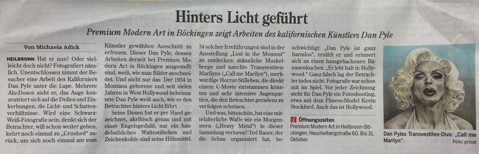 Heilbronner Stimme, 28.10.2015