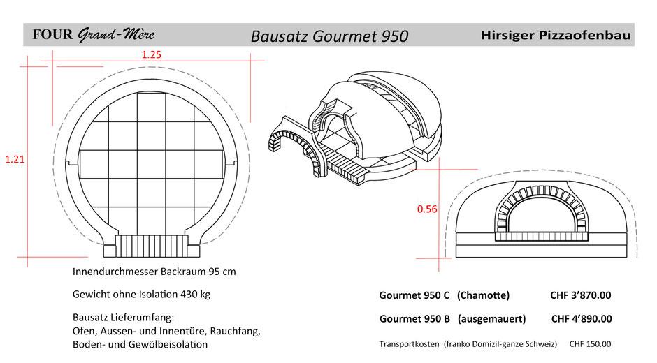 Four Grand Mère Bausatz Modell Gourmet 950