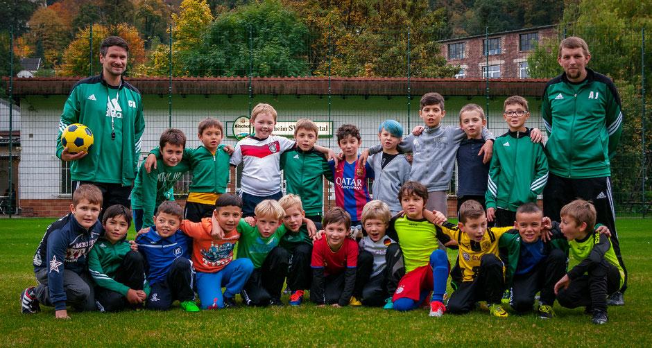Die F-Jugend des SV Schöntal