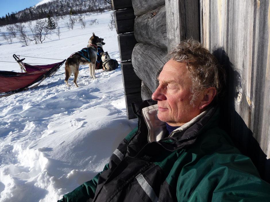 Helags Husky : Kurze Rast