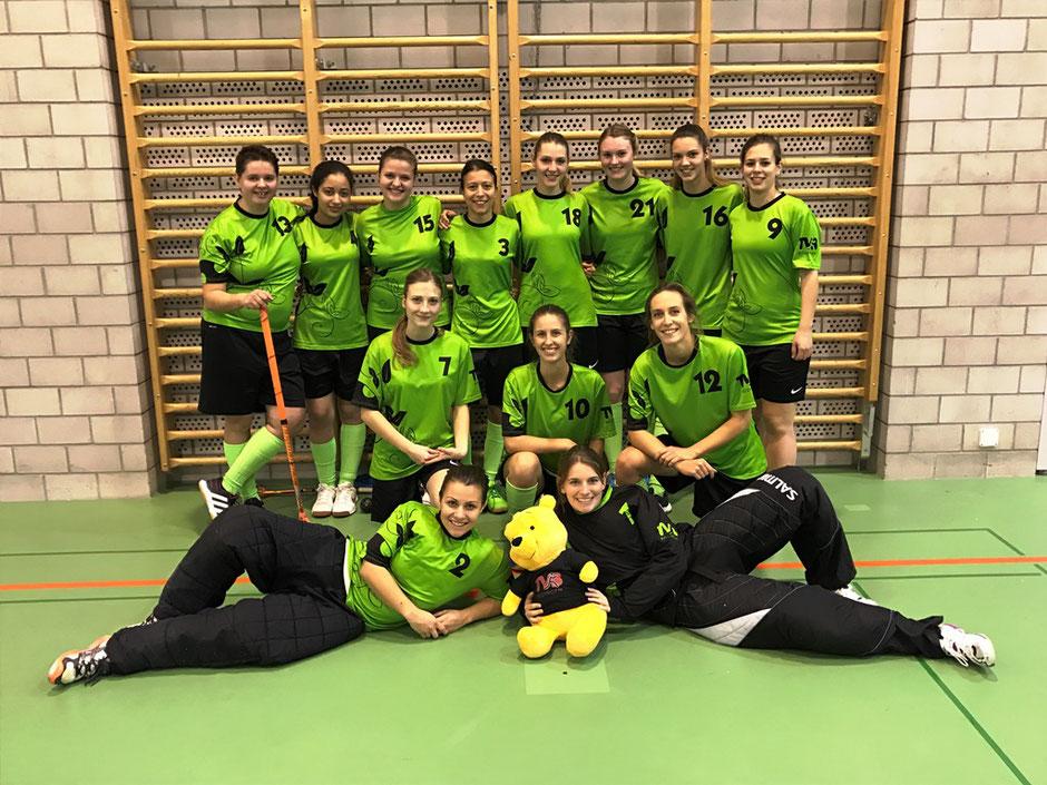 Team-Foto der Damen der Saison 2016/2017