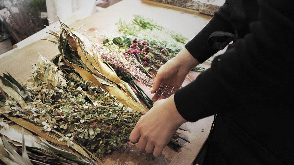 プリザーブドフラワー専門店 GREEN'S TALEが選ぶ花