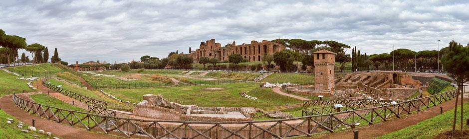 Der Circus Maximus in Rom