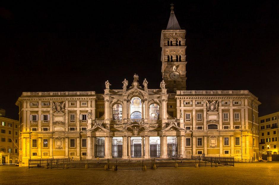Blick auf Santa Maria Maggiore in Rom