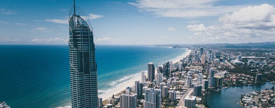 Reiseziele Australien: Gold Coast / Surfers Paradise