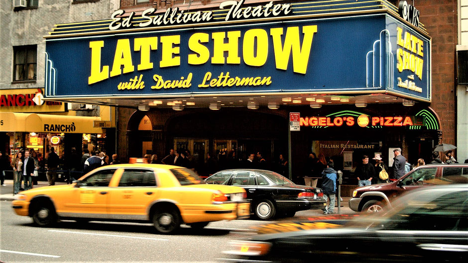 New York Reisebericht Statist in der Letterman Late Night Show