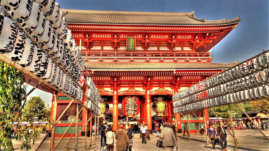Tokio Reisetipps Senso-ji Tempel