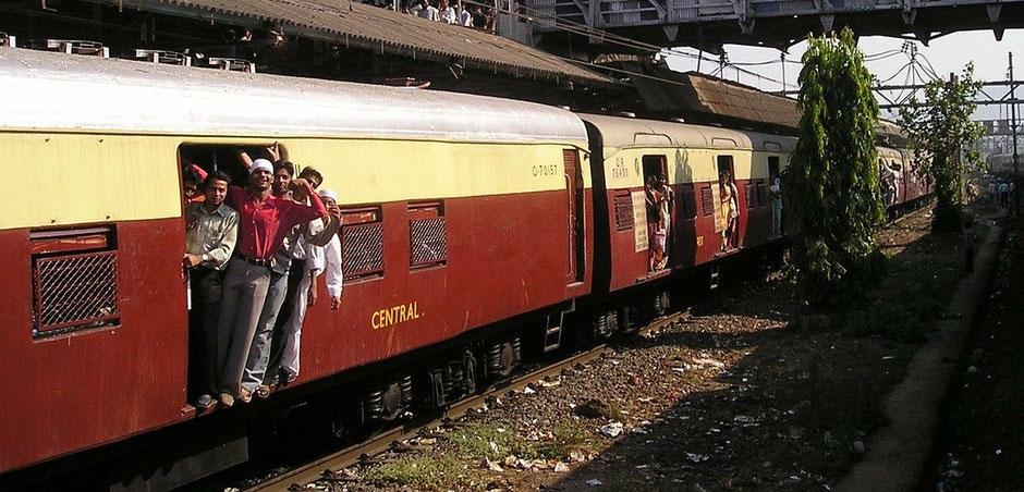 Zugfahrt Indien