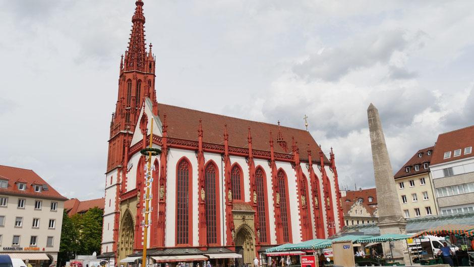 Würzburg Sehenswürdigkeiten: Marienkapelle am Marktplatz