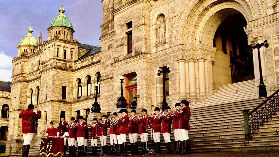 Victoria Vancouver Island Sehenswürdigkeiten Parlamentsgebäude