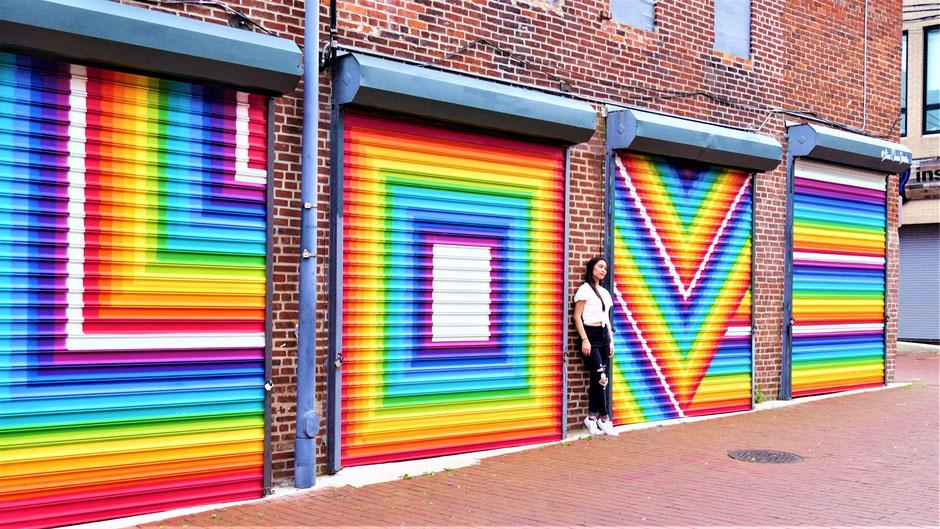 Washington Sehenswürdigkeiten: LOVE Gates in Blagden Alley