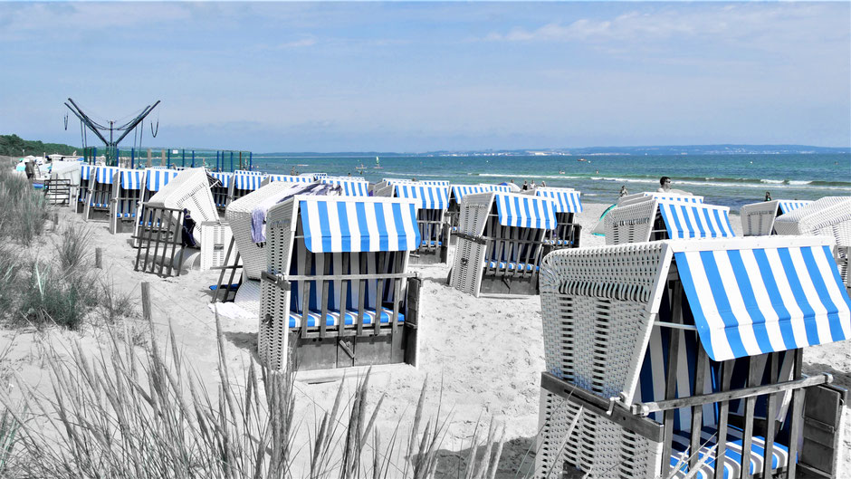 Rügen Sehenswürdigkeiten und Urlaub Tipps: Ostseebad Binz