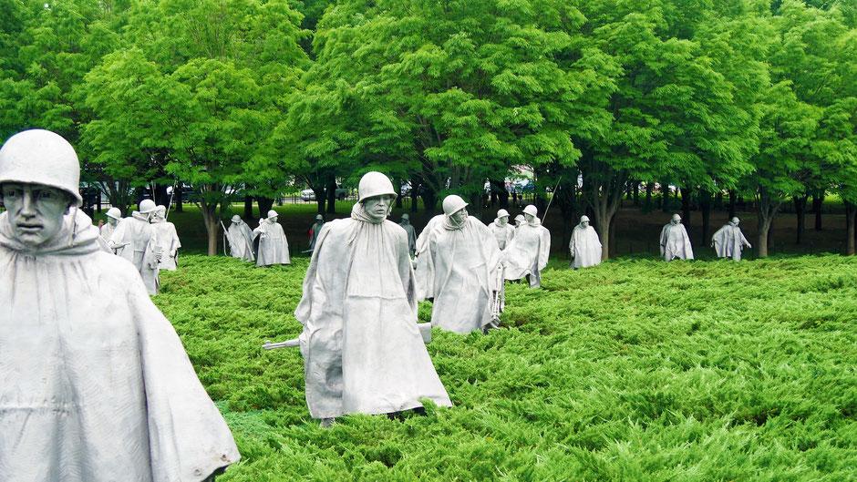 Washington Sehenswürdigkeiten: Korea War Memorial