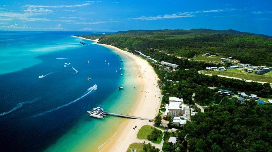 Brisbane Sehenswürdigkeiten Moreton Island