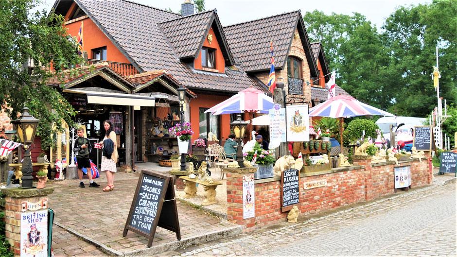Very British - ein englisches Café auf Rügen