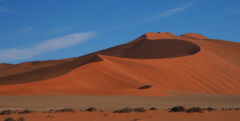 Namibia Sossusvlei Reisebericht Big Daddy und Big Mamma