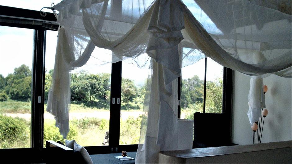 Afrika Safari Erfahrungen Luxus Lodge in Südafrika