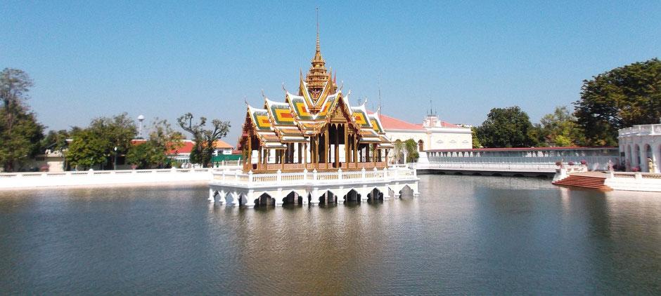 Thailand Ayutthaya Tipps -  Longtail Bootsfahrt