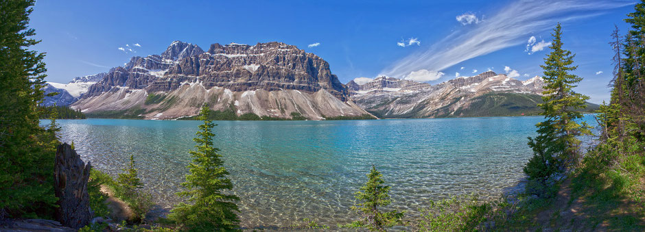 Banff National Park Reise Anreise Lage Route