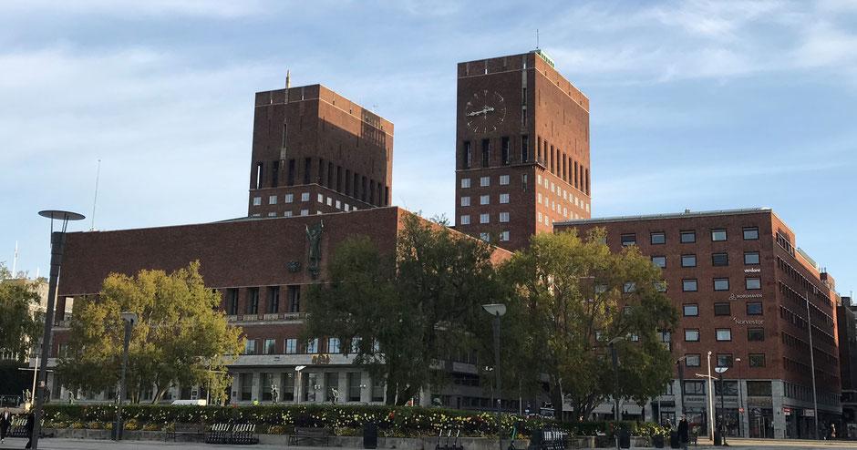 Oslo Reiseblog Rathaus